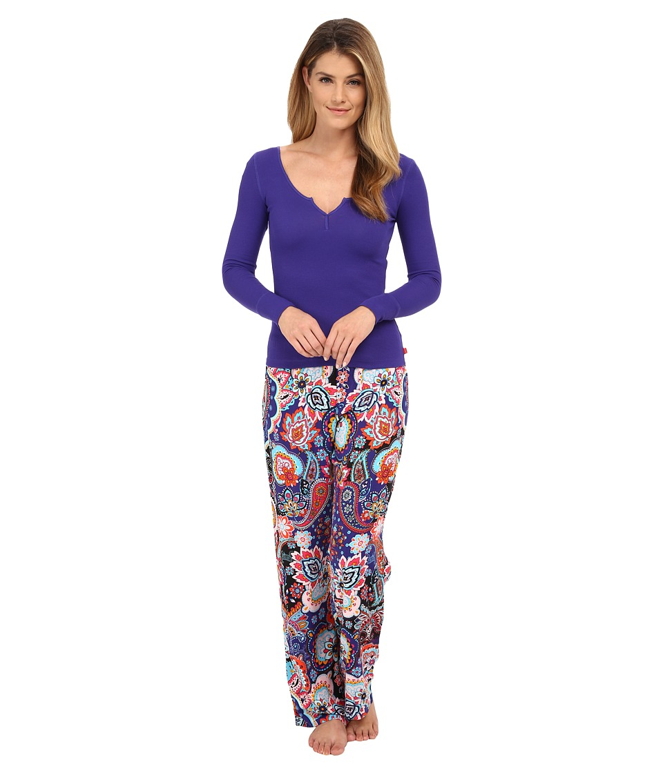 Josie - Bazaar Paisley PJ (Multi) Women's Pajama Sets