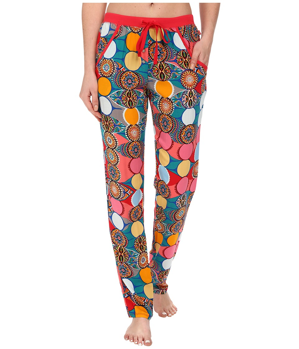 Josie - Glass Lights Pants (Blue Multi) Women's Pajama