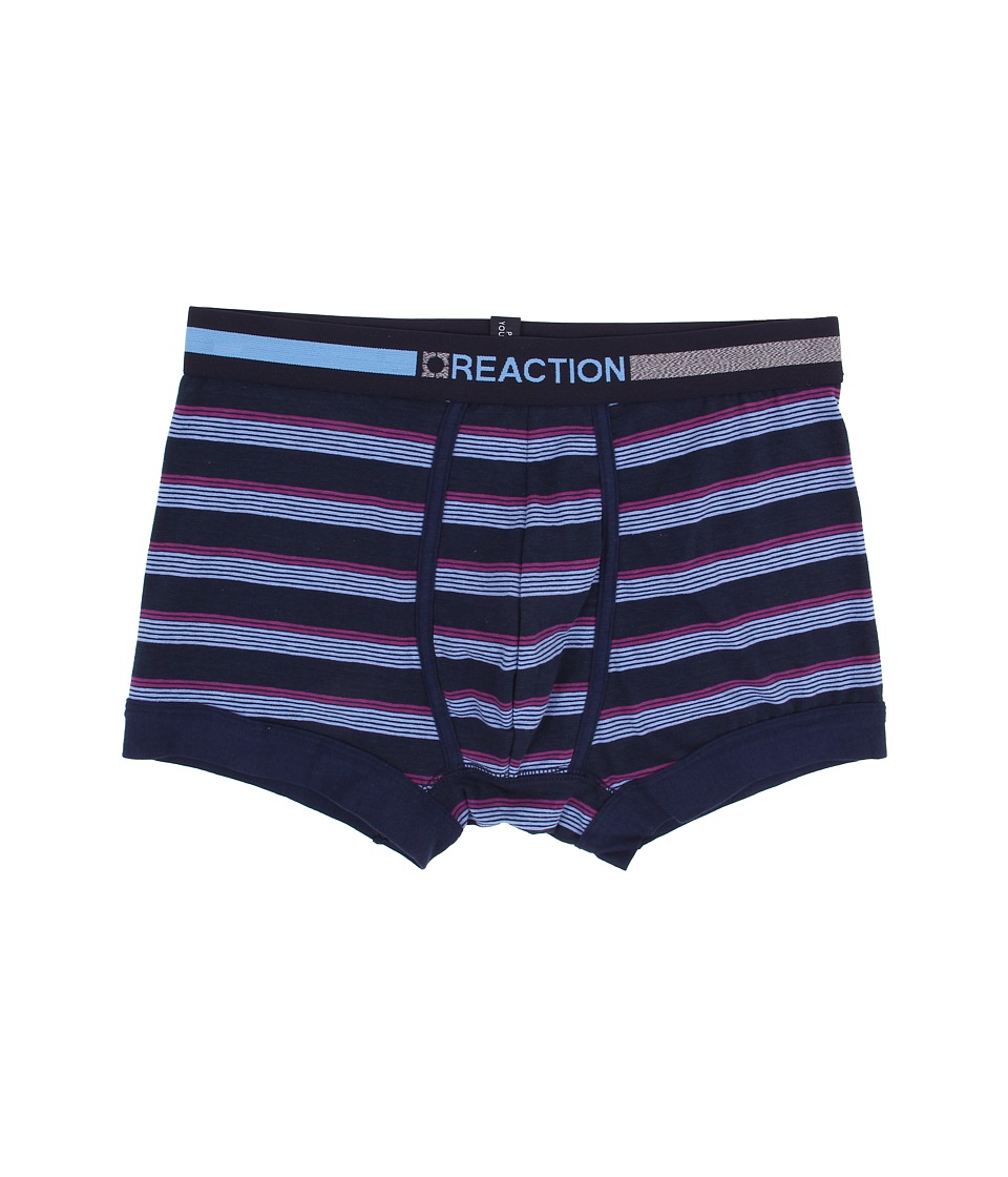 Kenneth Cole Reaction - Trunk (Light Blue/Navy Stripe) Men's Underwear