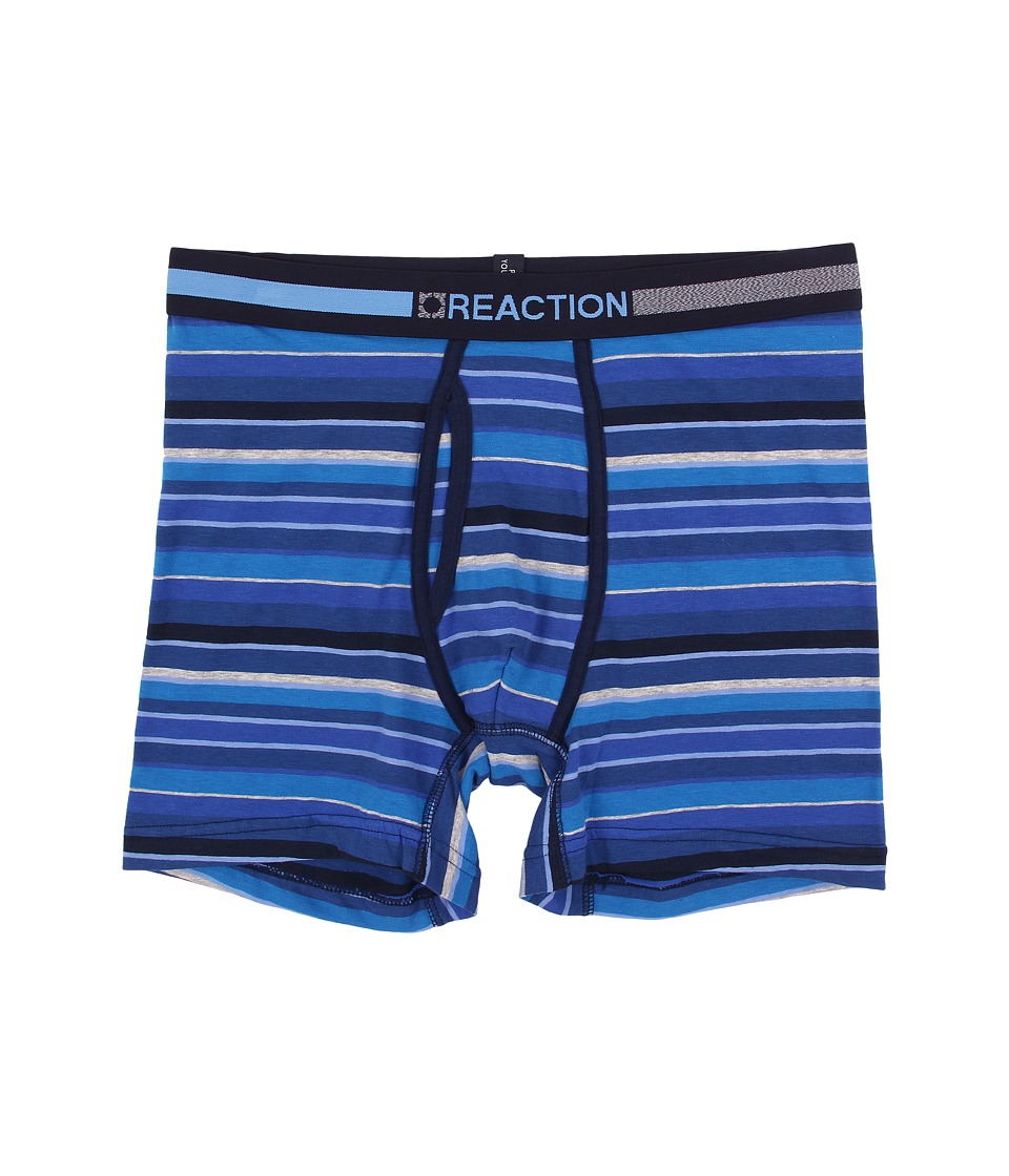 Kenneth Cole Reaction - Boxer Brief (Wide Multi Stripe Blue) Men's Underwear
