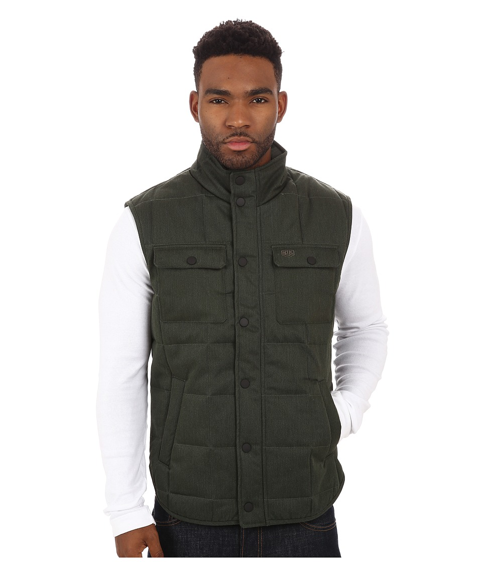 Deus Ex Machina - Jonathan Gillet Vest (Forest) Men's Vest