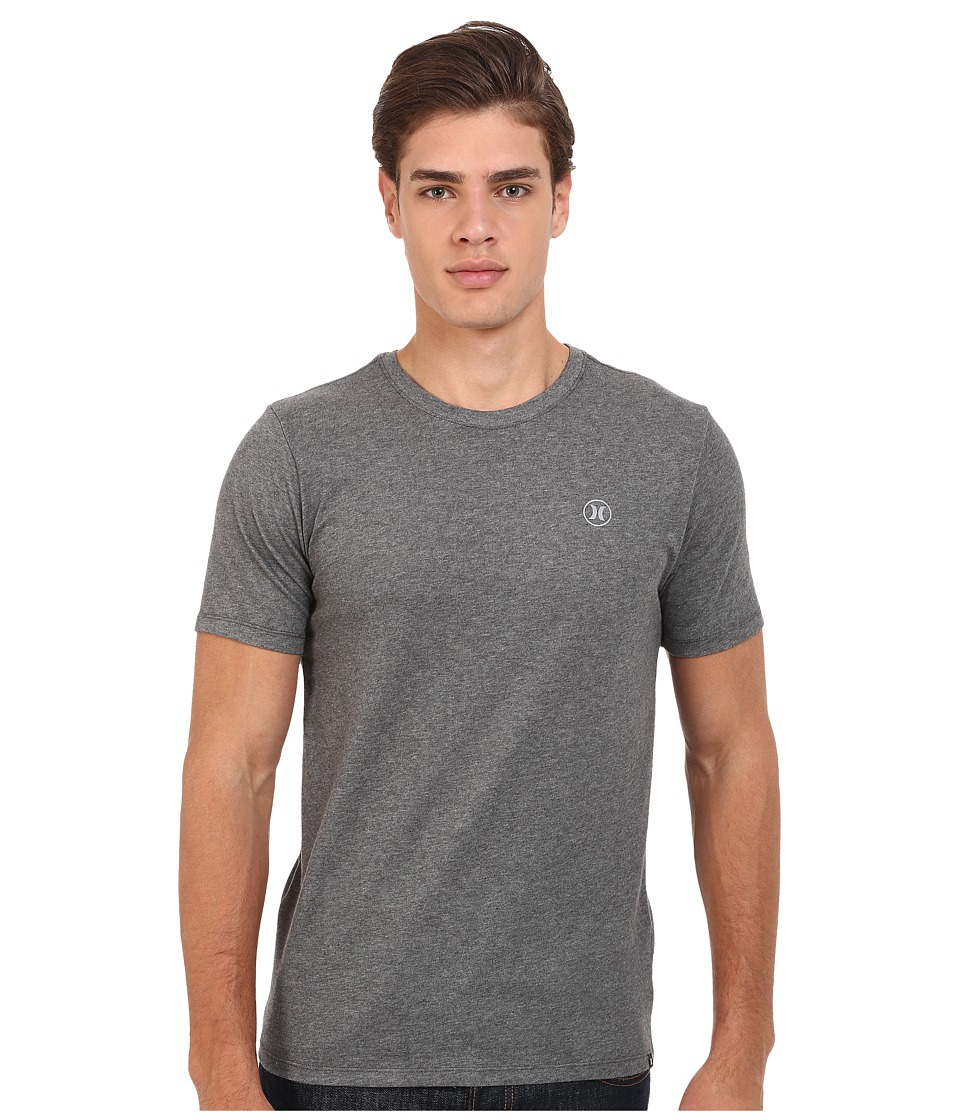 Hurley Staple Dri-Fit Tee (Charcoal Heather) Men