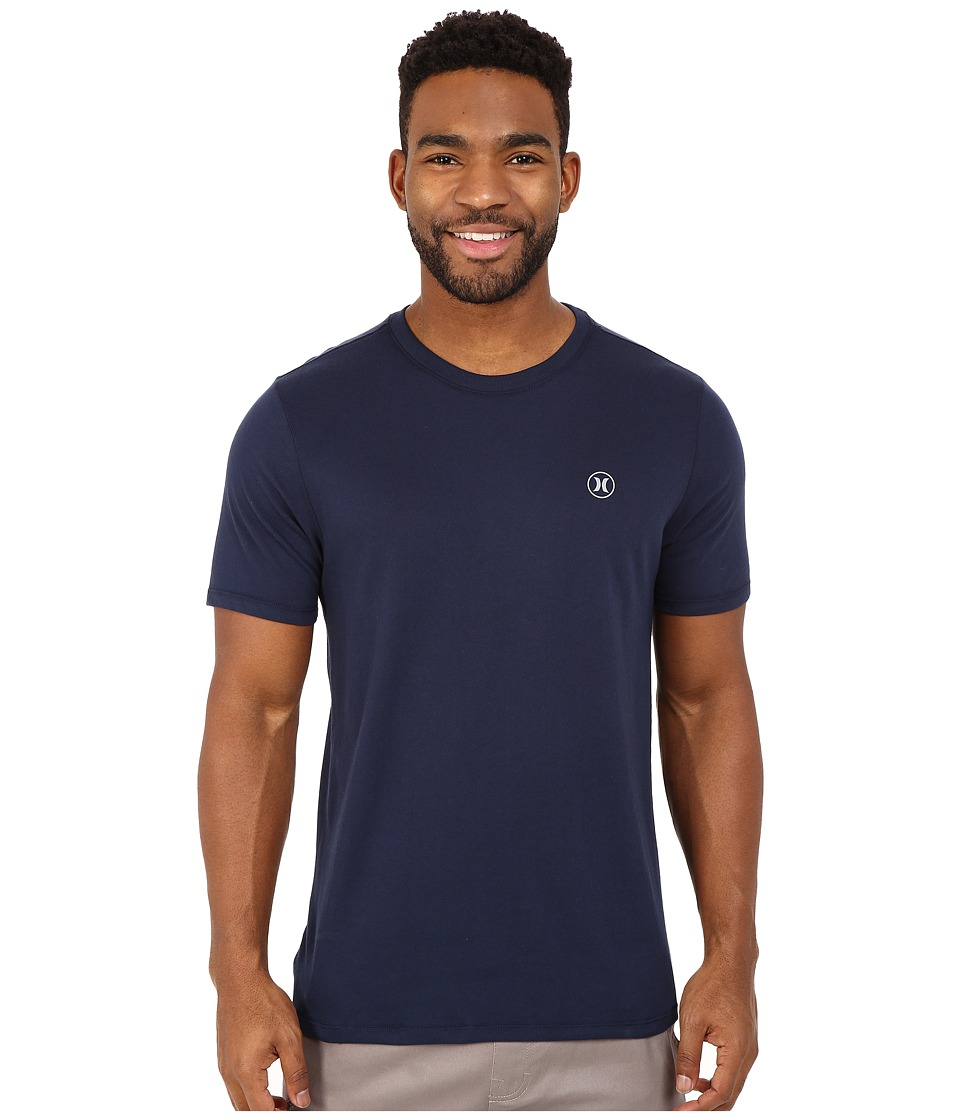 Hurley Staple Dri-Fit Tee (Obsidian) Men