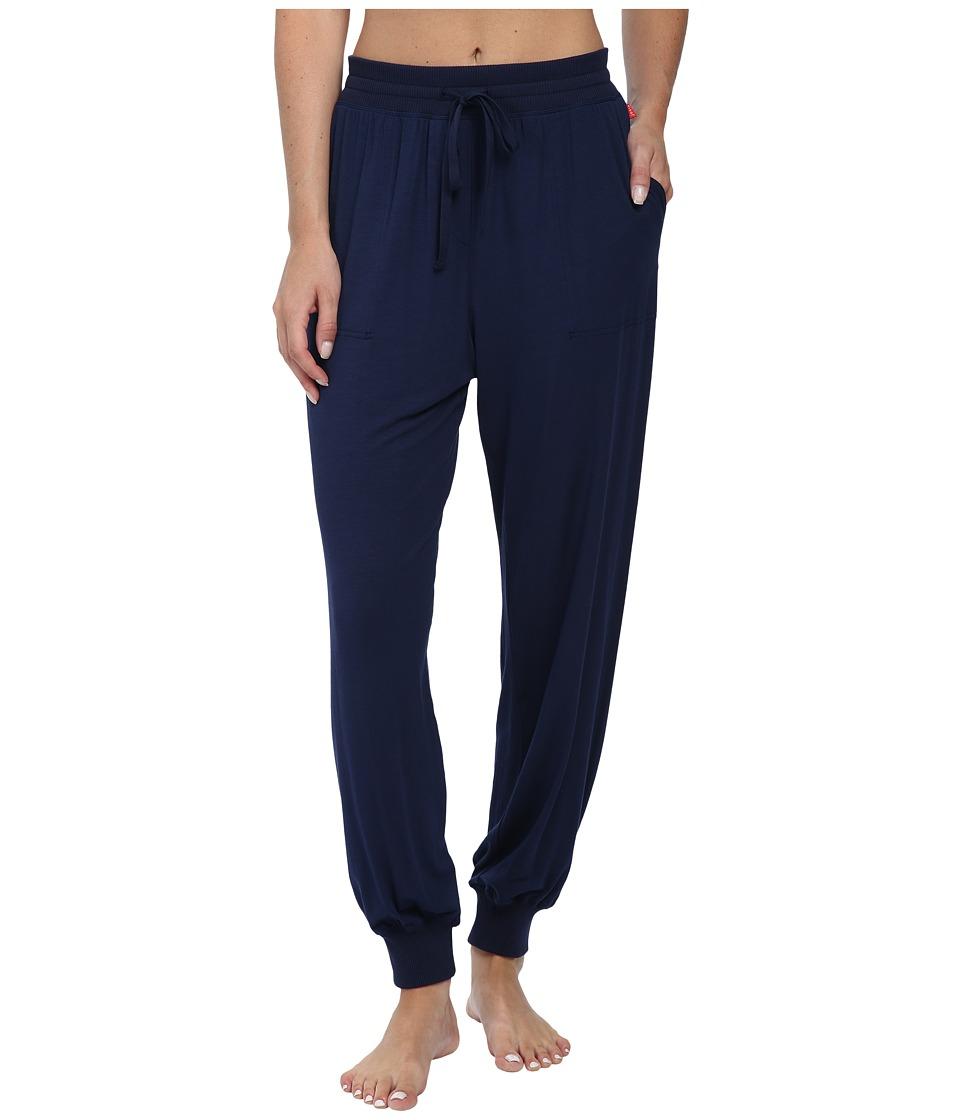 Josie - Amp'd Solid Jersey Pajama Pants (Midnight Navy) Women's Pajama