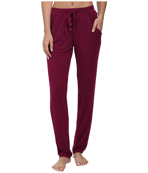Josie - Amp'd 28 1/2 Pants (Bordeaux) Women's Pajama