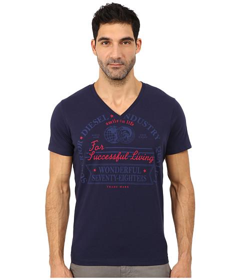Diesel - Moselle Tee (Peacoat) Men's T Shirt
