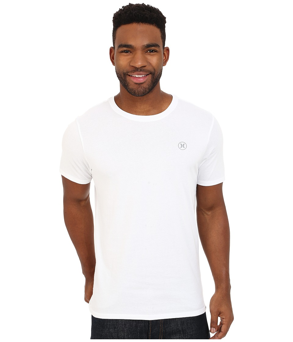 Hurley Staple Dri-Fit Tee (White) Men