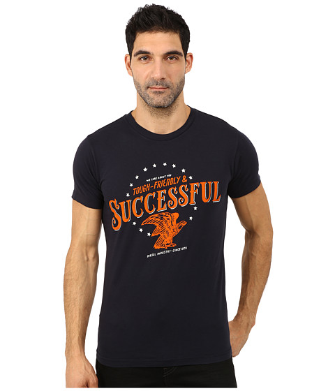Diesel - Successful Tee (Total Eclipse) Men's T Shirt