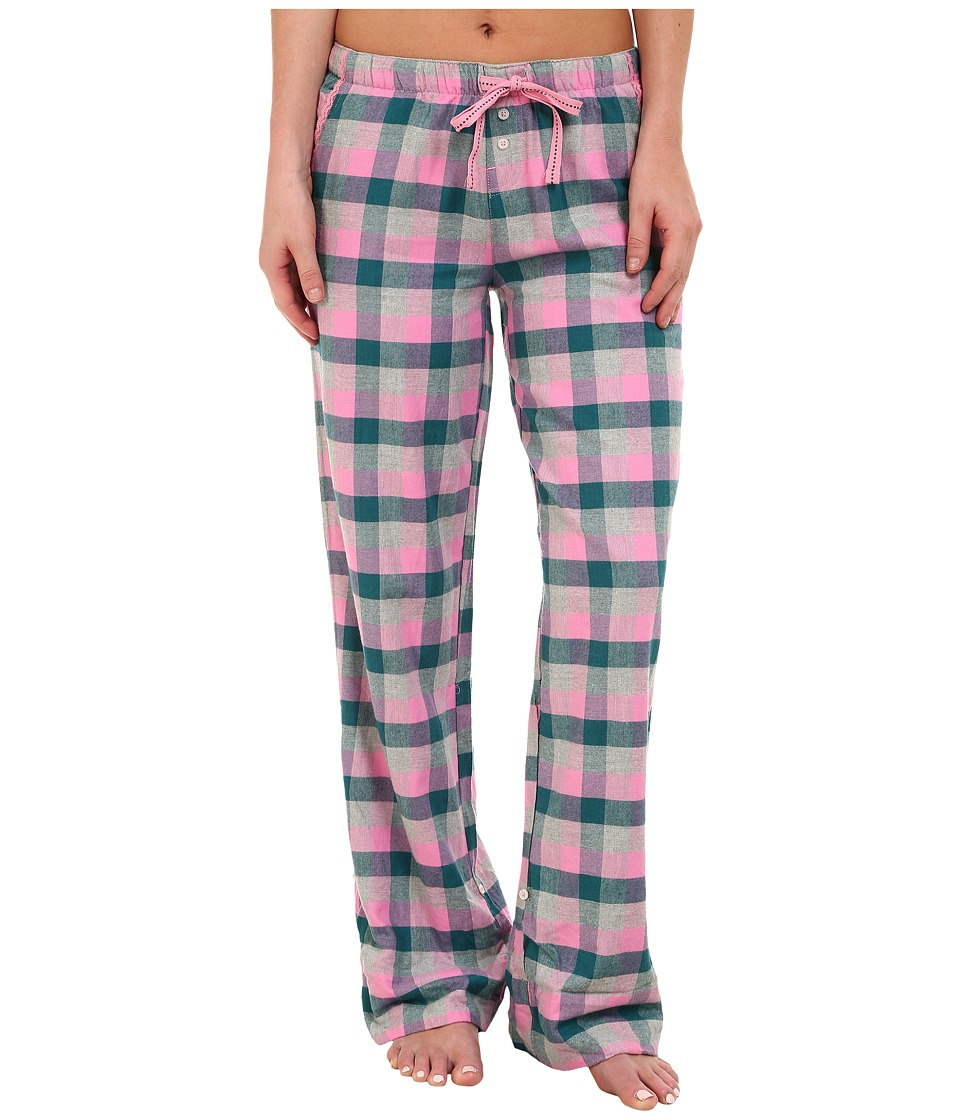 Jane & Bleecker - Flannel Pants 3581056 (Maple Plaid) Women