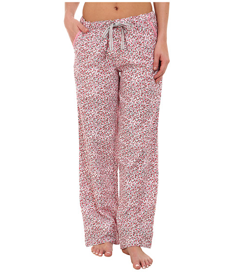 Jane & Bleecker - Flannel Pants 3581056 (Cabin Flowers) Women