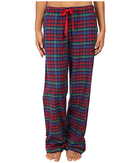 Jane & Bleecker - Flannel Pants 3581057 (Vermont Plaid Three) Women