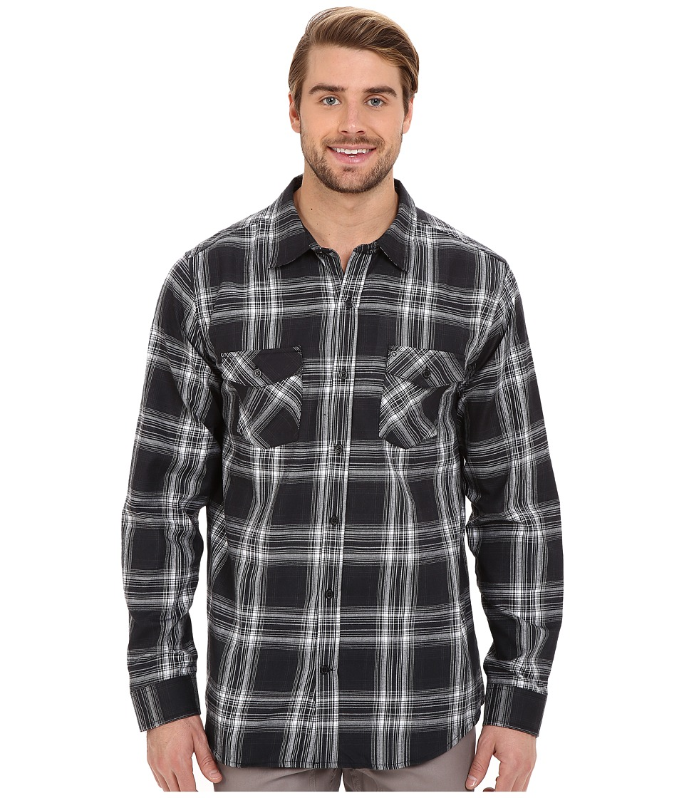 Hurley - Dri-Fit System Long Sleeve (Black) Men's Long Sleeve Button Up