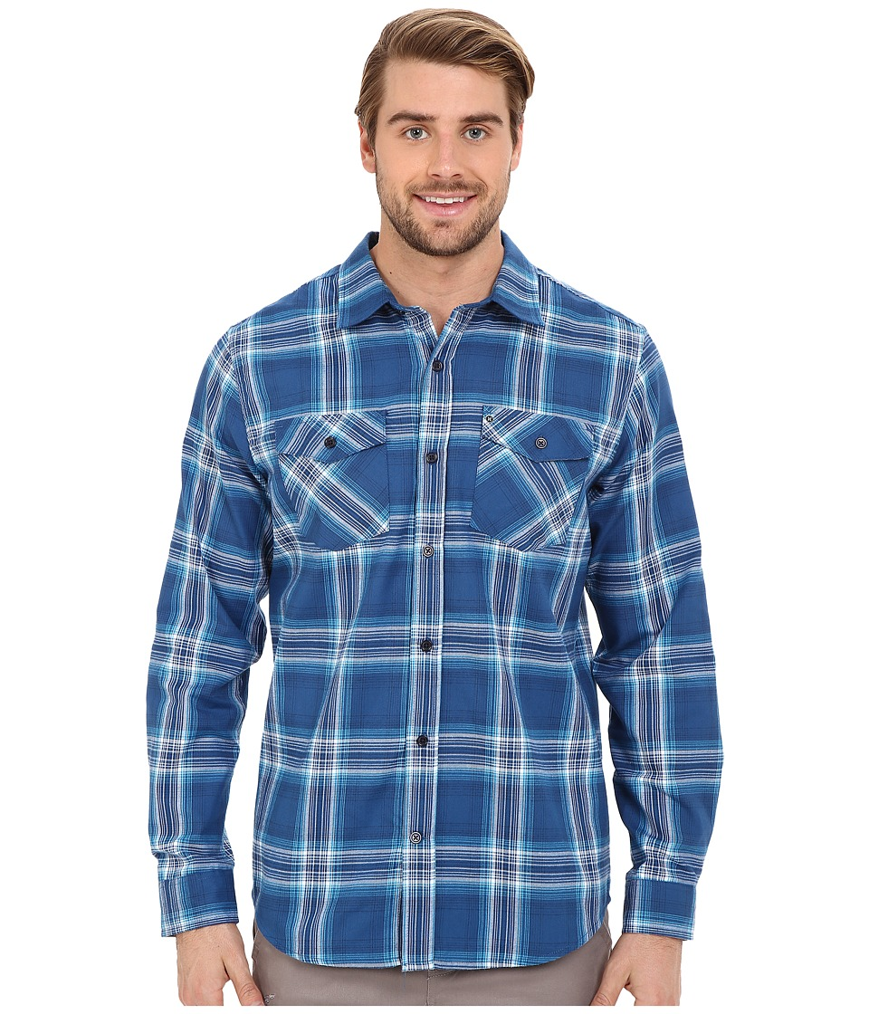 Hurley - Dri-Fit System Long Sleeve (Court Blue) Men's Long Sleeve Button Up