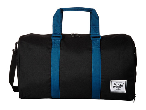 Herschel Supply Co. - Novel (Black/Ink Blue) Duffel Bags