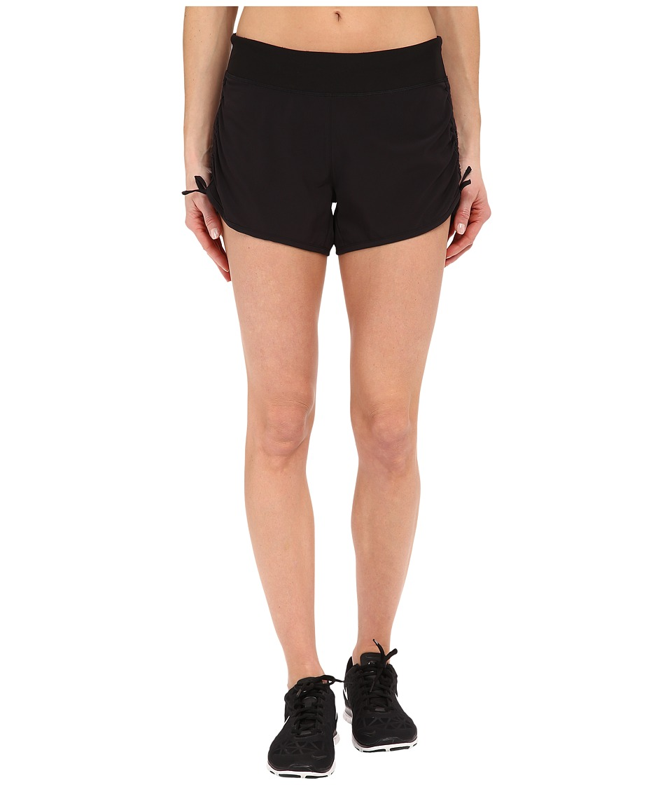 Lucy - Endurance Woven Shorts (Lucy Black) Women's Shorts