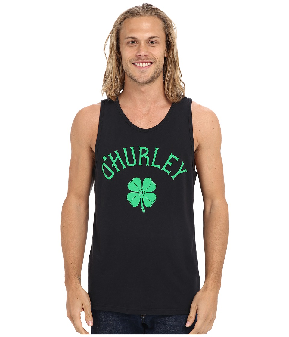 Hurley - O'Hurley Tank Top (Black) Men's Sleeveless