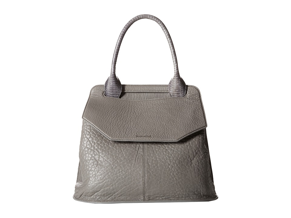 McQ - Ruin Top Handle Bag (Grey) Satchel Handbags