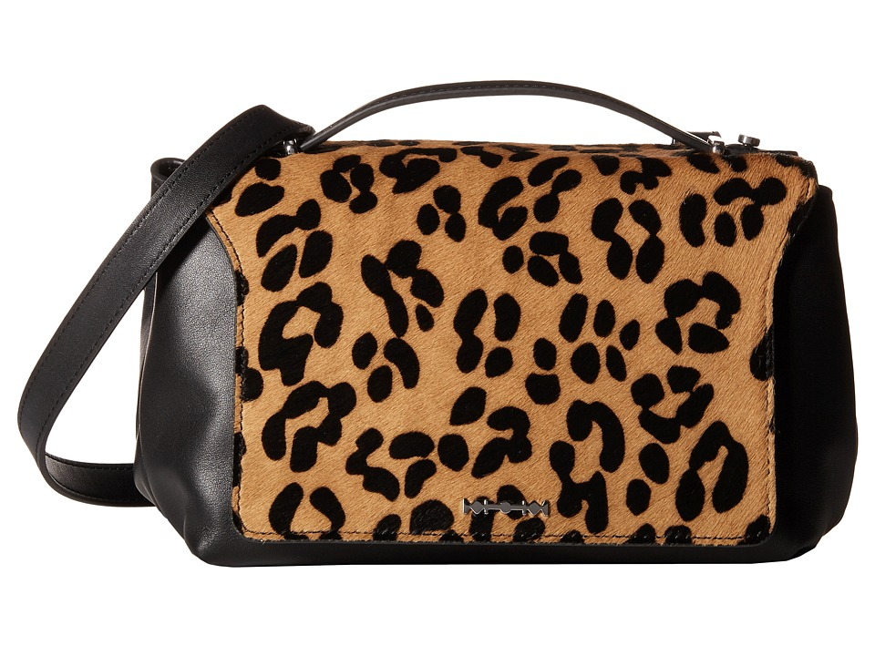McQ - Mini Riot (Leopard/Black) Cross Body Handbags