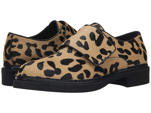 McQ - Chatsworth (Leopard/Black) Women's Slip on Shoes