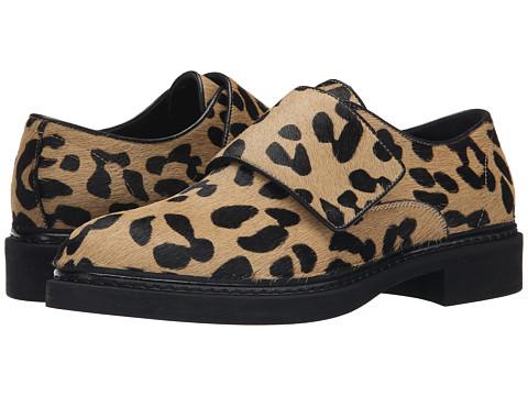 McQ - Chatsworth (Leopard/Black) Women's Slip on Shoes