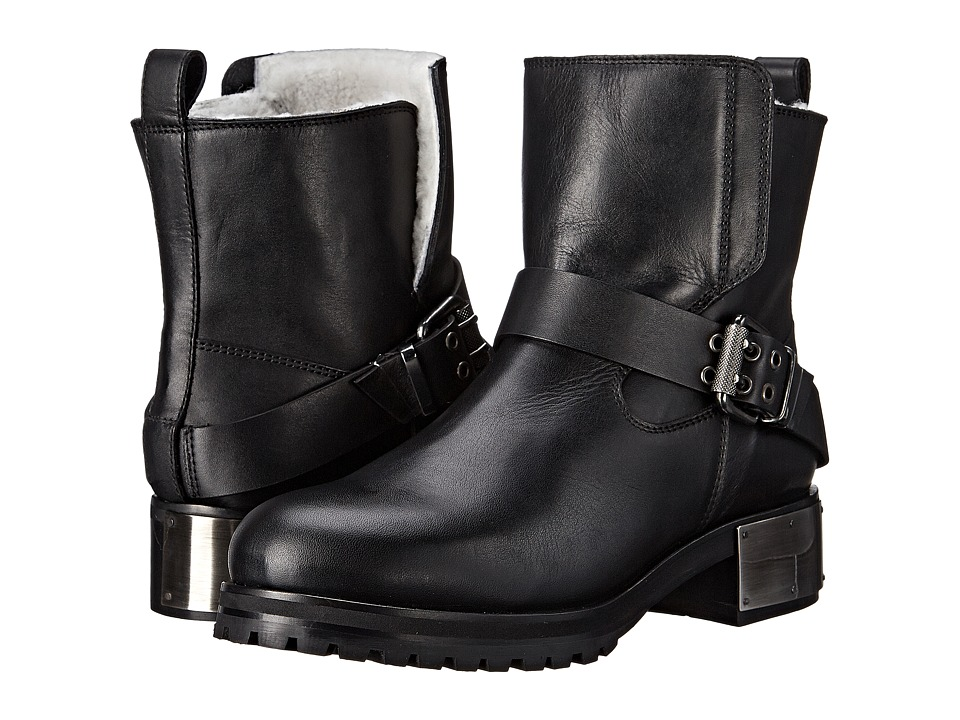 McQ - Broadway Biker Boot (Black) Women