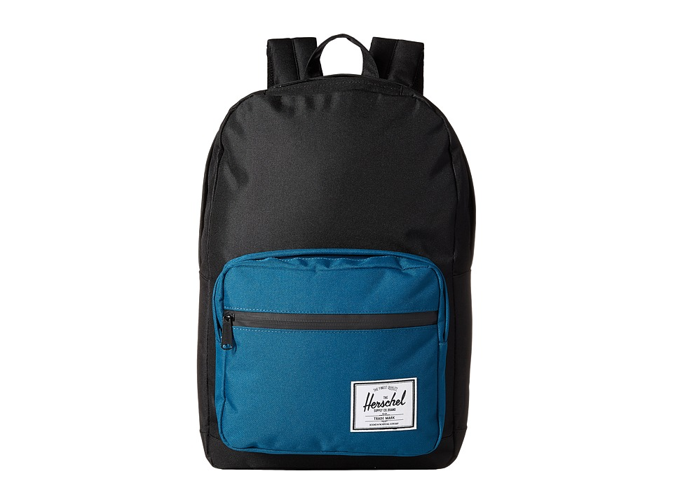 Herschel Supply Co. - Pop Quiz (Black/Ink Blue) Backpack Bags