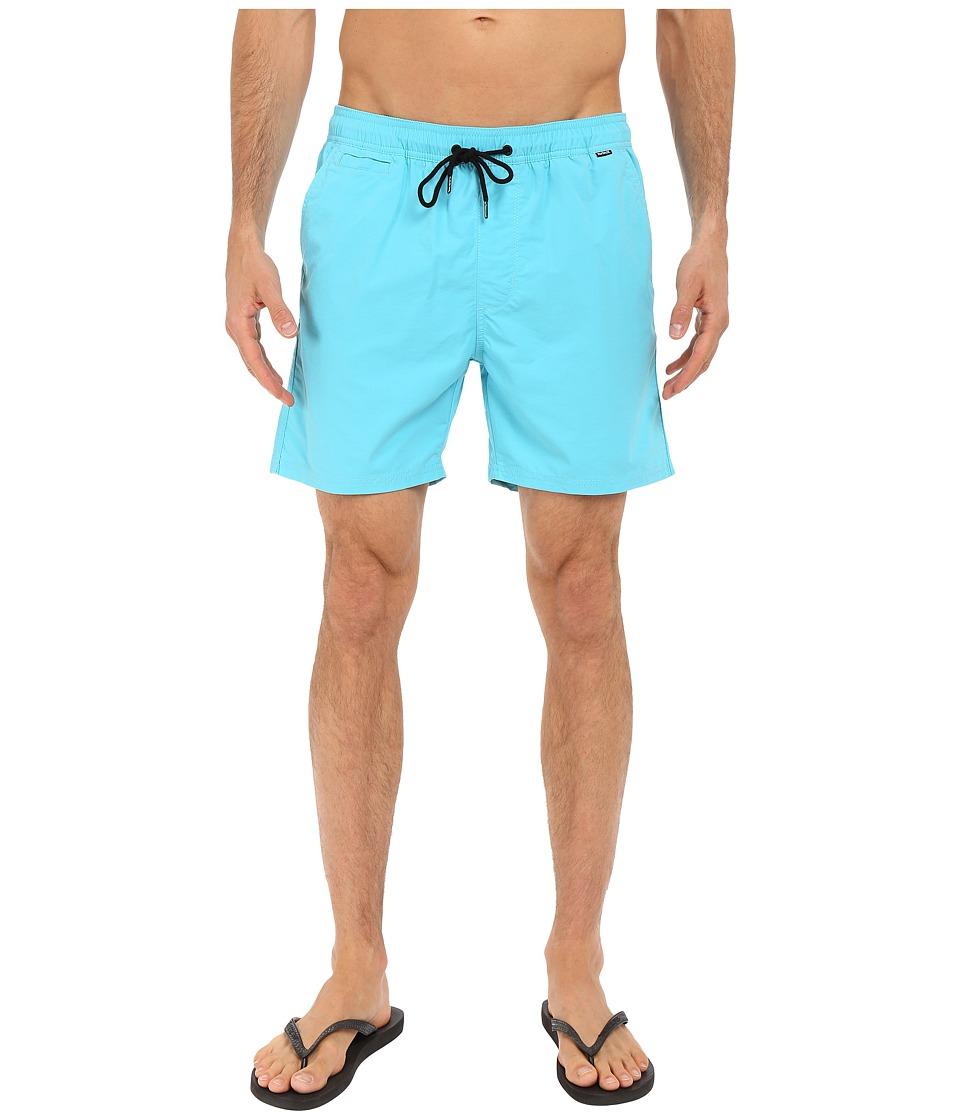 Hurley - Dri-Fit One Only Volley Walkshort (Beta Blue) Men's Shorts