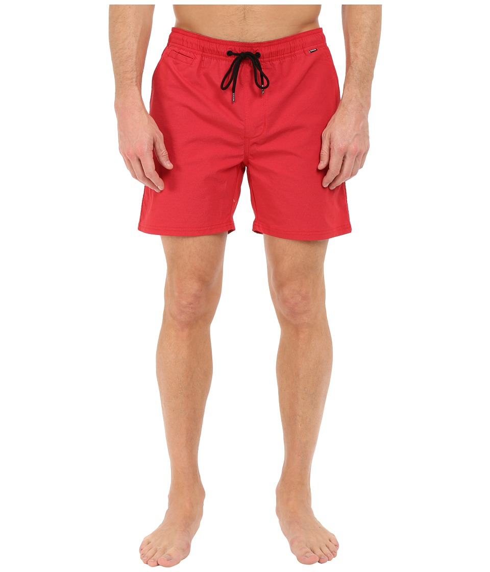Hurley - Dri-Fit One Only Volley Walkshort (Gym Red) Men's Shorts