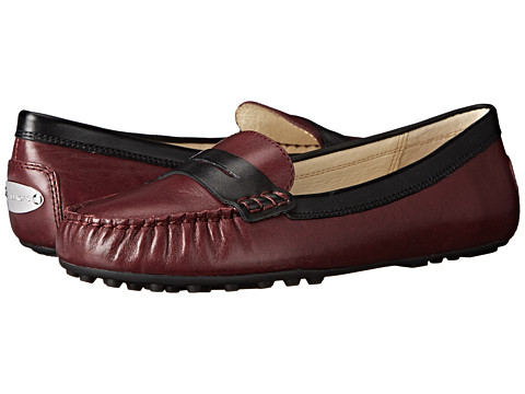 MICHAEL Michael Kors - Daisy Loafer (Merlot Vachetta) Women's Flat Shoes