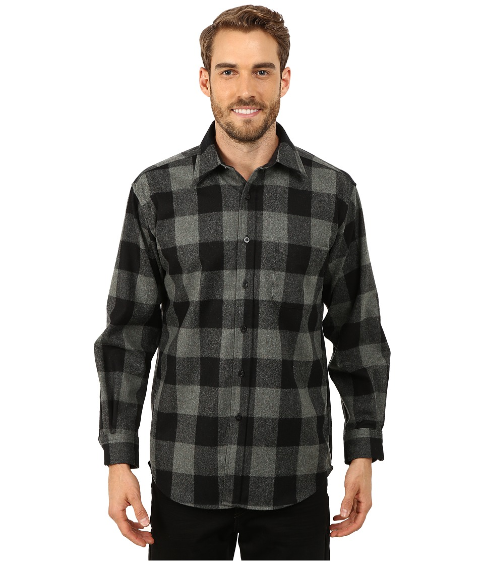 Pendleton - Lodge Shirt (Green/Black Check) Men's Clothing
