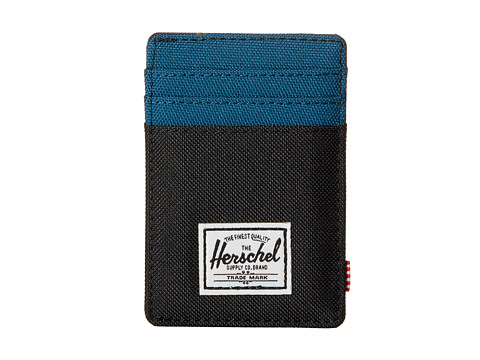 Herschel Supply Co. - Raven (Black/Ink Blue) Credit card Wallet