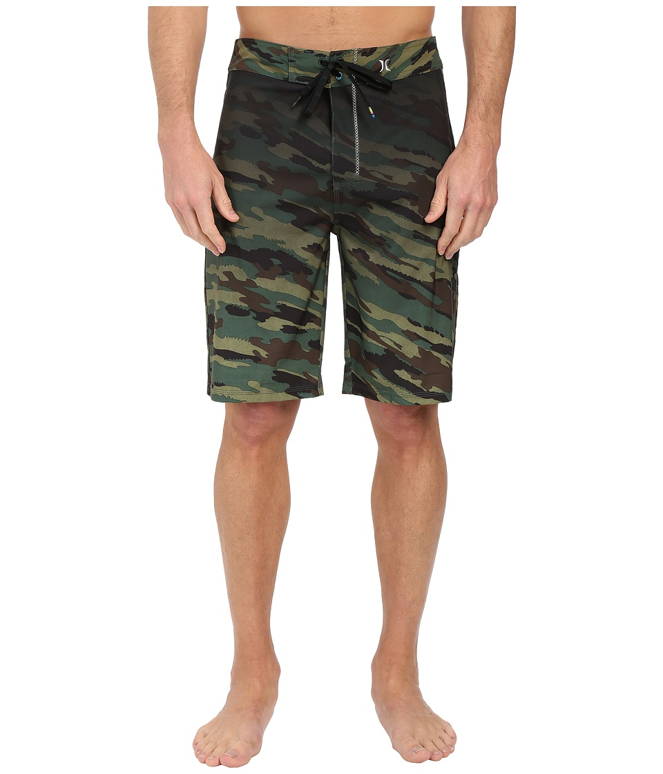 Hurley - Phantom JJF 21 Boardshorts (Deepest Green) Men's Swimwear