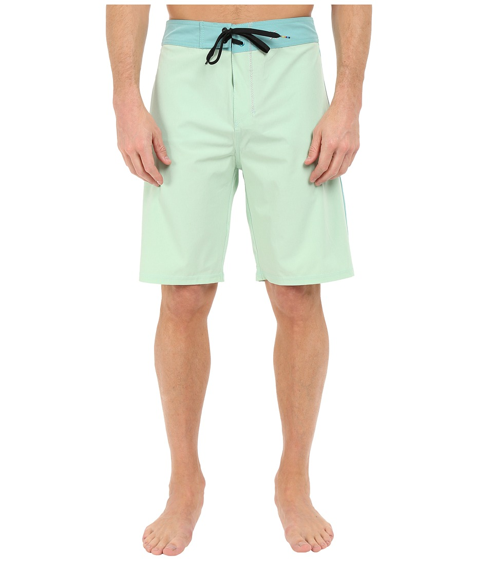 Hurley Phantom JJF Solid 21 Boardshorts (Enamal Green) Men