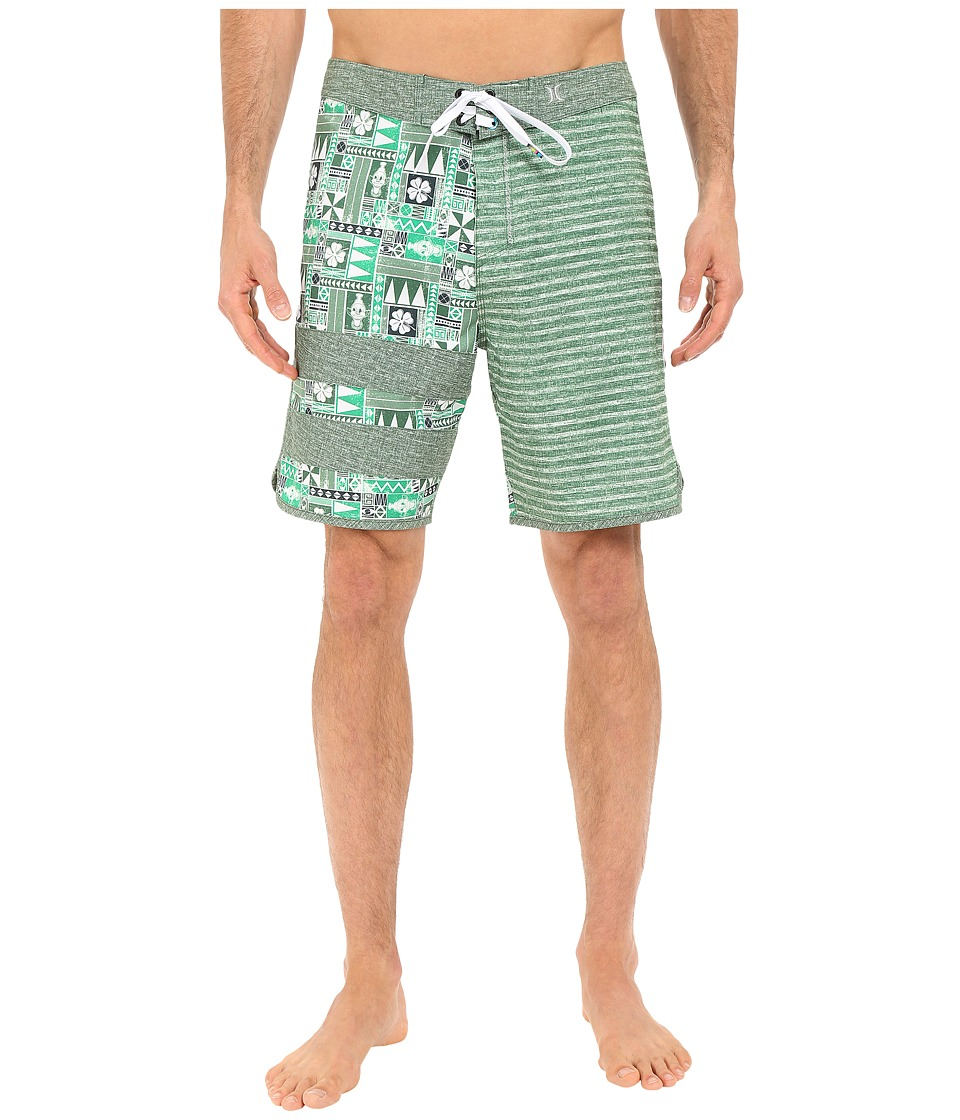 Hurley - Phantom O'Hurley 19 Boardshorts (Green) Men's Swimwear