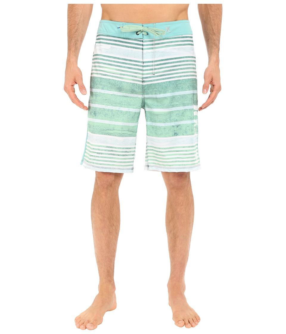 Hurley Phantom Hightide 21 Boardshorts (Enamel Green) Men