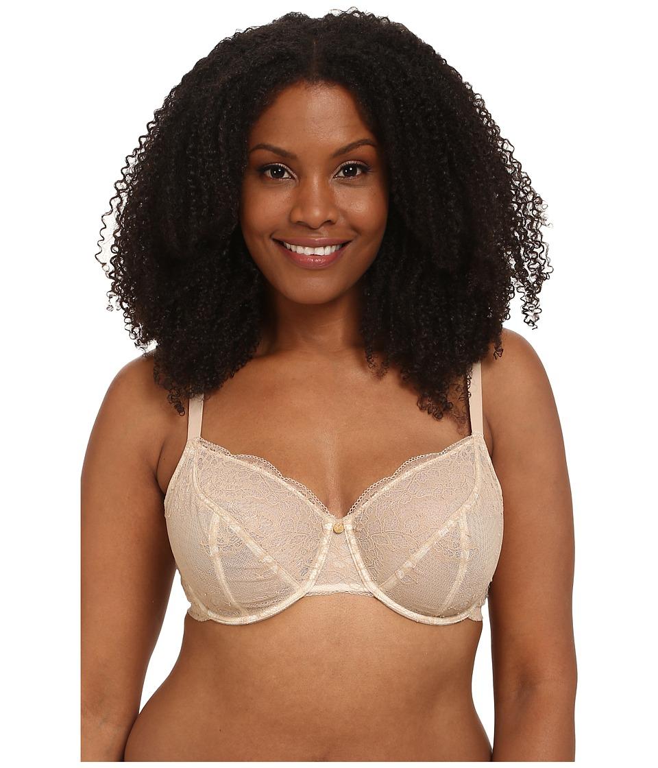 Natori - Toujours Full Figure Cut Sew Underwire Bra (Cafe/Ivory) Women's Bra