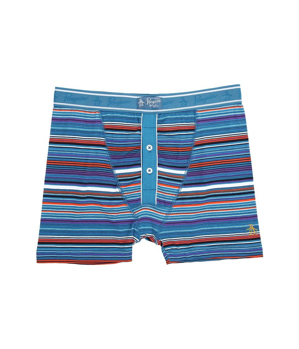 Original Penguin - Boxer Brief (Seaport Trail Stripe) Men's Underwear