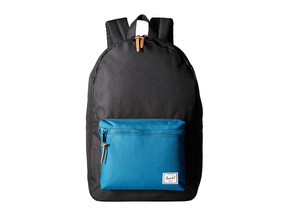 Herschel Supply Co. - Settlement (Black/Ink Blue) Backpack Bags