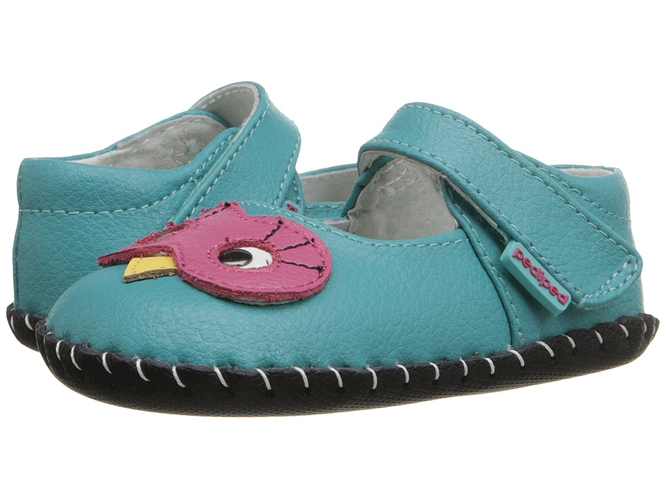 pediped - Jazzie Original (Infant) (Peacock) Girl's Shoes