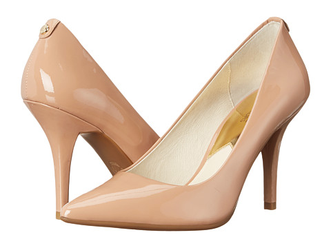 MICHAEL Michael Kors - MK-Flex High Pump (Dark Nude Patent) High Heels