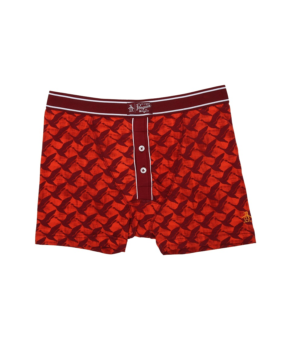 Original Penguin - Boxer Brief (Red Clay Duck Flight) Men
