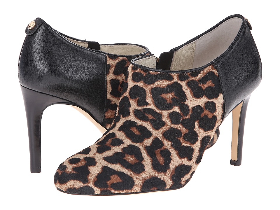 MICHAEL Michael Kors Sammy Ankle Boot (Natural Cheetah Haircalf/Nappa) Women