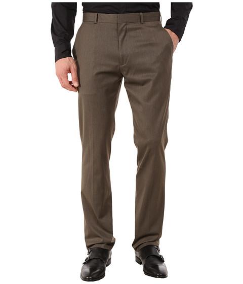 Perry Ellis Portfolio - Slim Fit Pants (Rain Drum) Men's Dress Pants