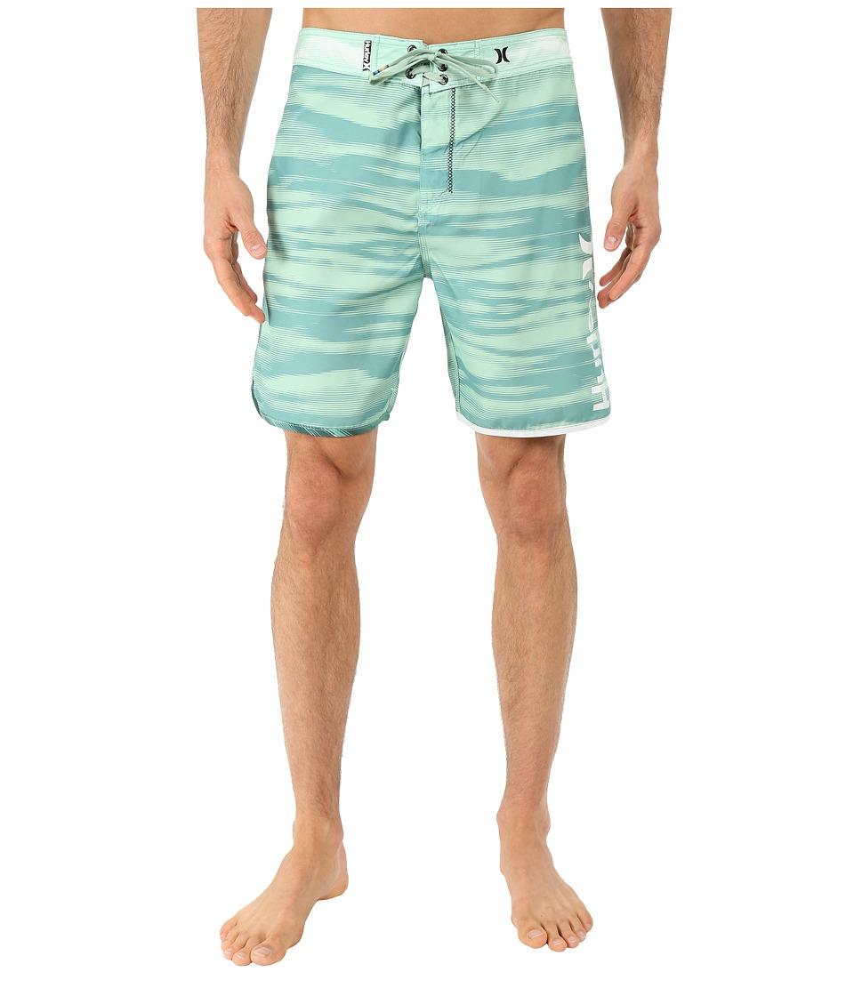 Hurley - Flow 19 Boardshorts (Enamel Green) Men's Swimwear