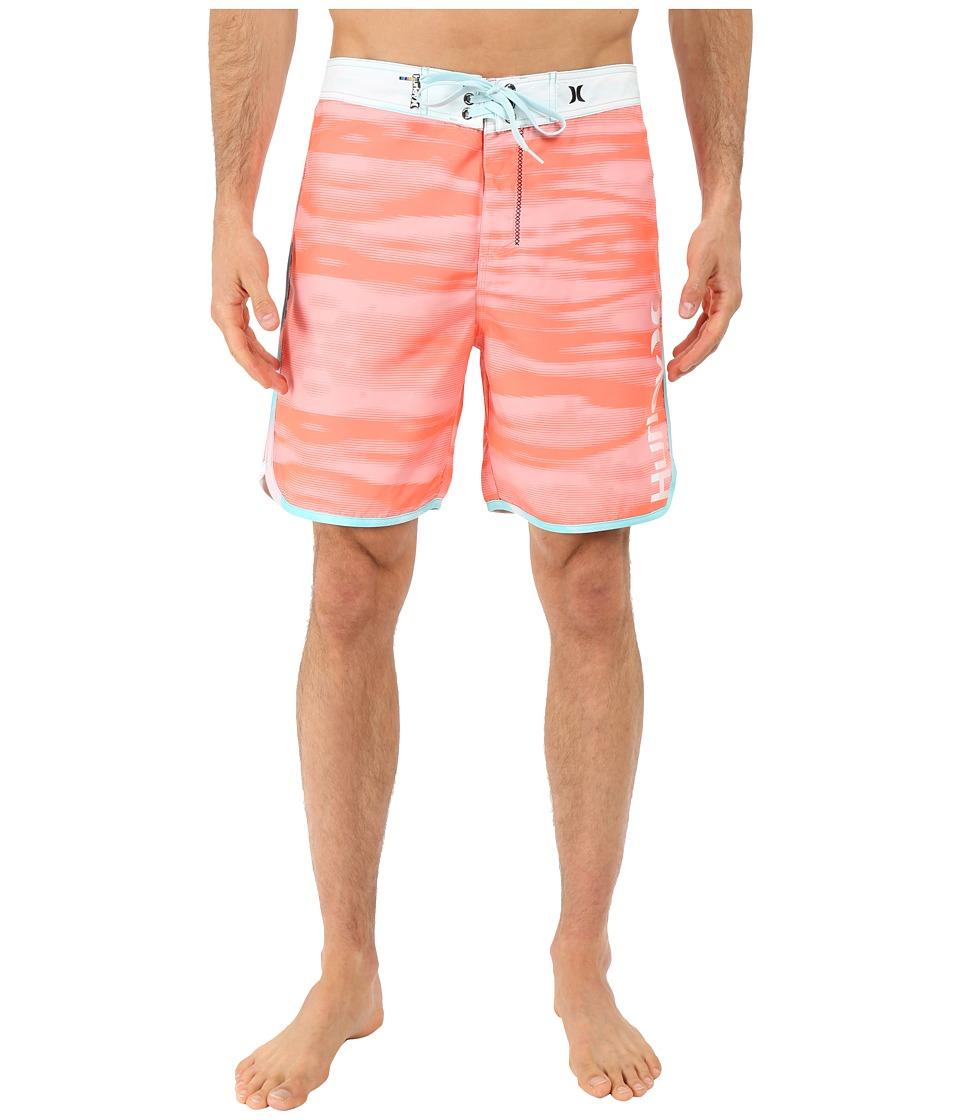 Hurley - Flow 19 Boardshorts (Bright Mango) Men's Swimwear