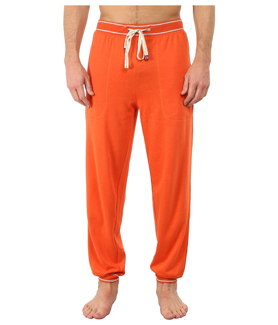 Original Penguin - Cuffed French Terry Pant (Red Clay) Men's Pajama