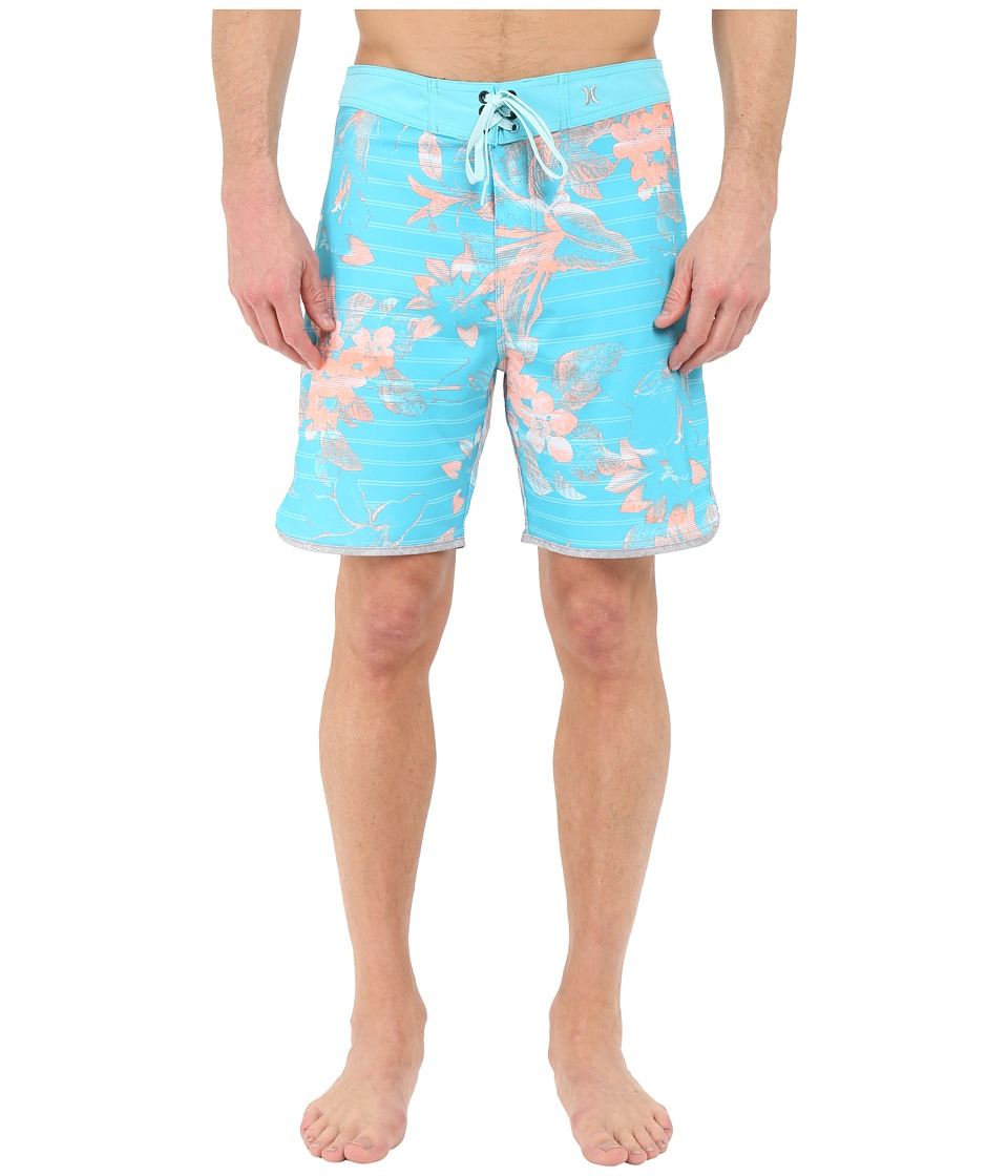 Hurley - Phantom Lark 19 Boardshorts (Beta Blue) Men's Swimwear