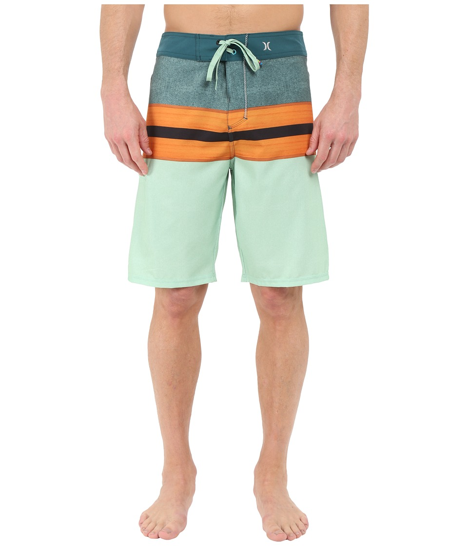 Hurley - Phantom Density 21 Boardshorts (Enamel Green) Men's Swimwear