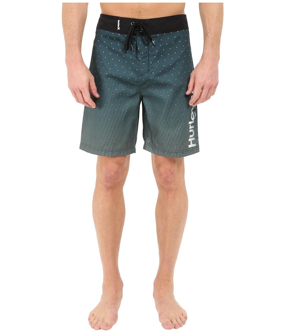 Hurley - Polka 19 Boardshorts (Enamel Green) Men's Swimwear