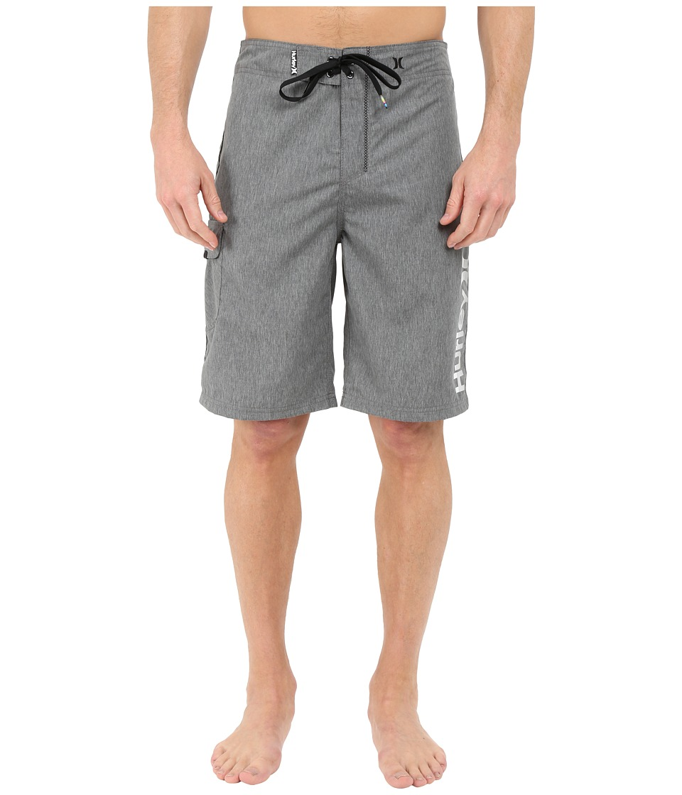 Hurley - Heathered One Only 22 Boardshorts (Black) Men's Swimwear
